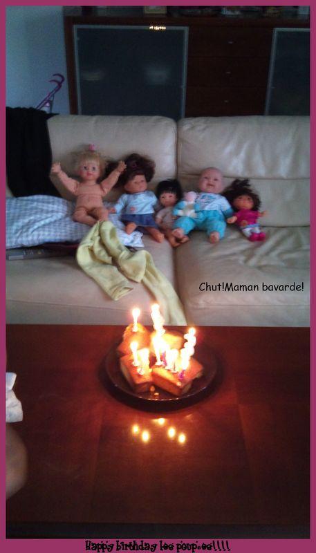 anniversaire poupées