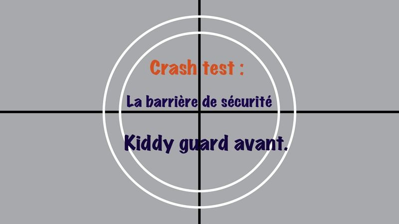 barrière de sécurité kiddy guard avant