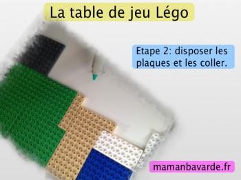 table de jeu légo