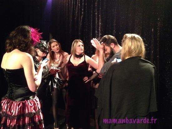 tournage film burlesque