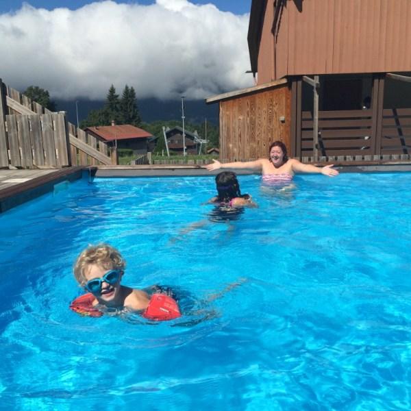 vacances montagne famille