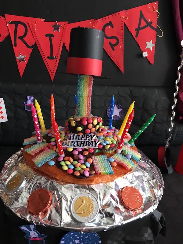 gravity cake magie