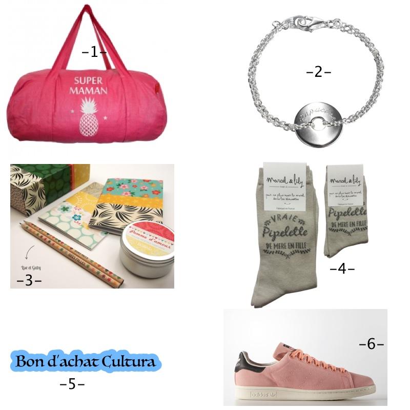 sélection fête des mères-6 cadeaux