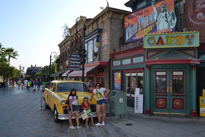 Universal studios rues
