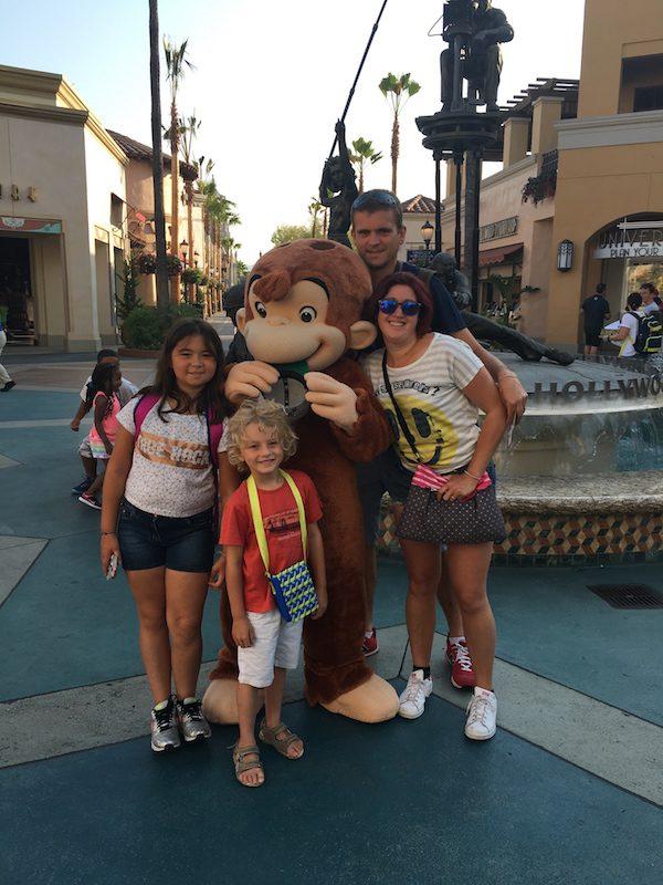 Universal Studios et Gorge le singe