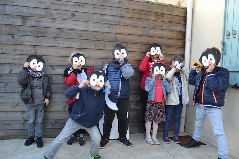 anniversaire-pingouins-masques