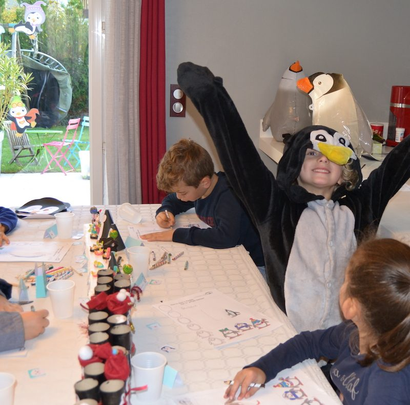 anniversaire-theme-pingouin