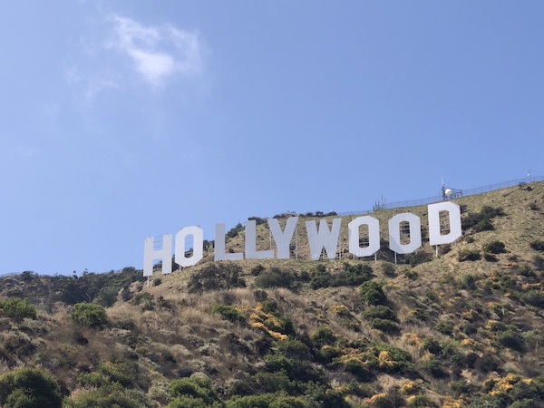 lettres Hollywood