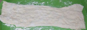 Pâte à pain ciabatta