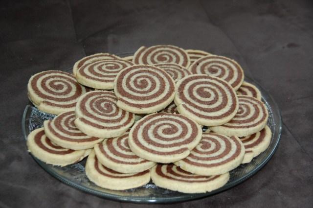 Sablés spirale chocolat/vanille