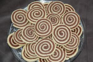 Sablé spiral chocolat/vanille