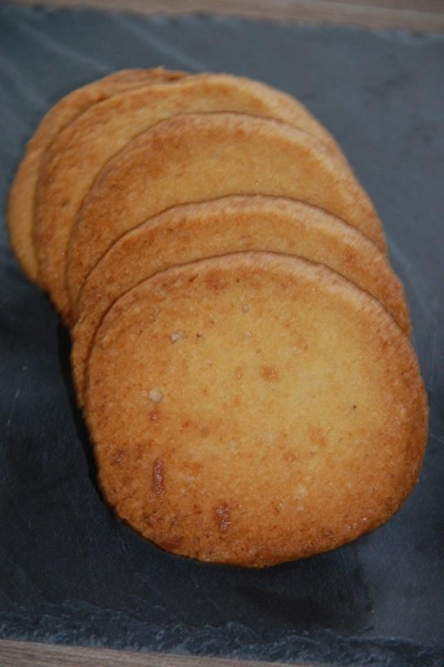 Sablés à la pâte d'amande