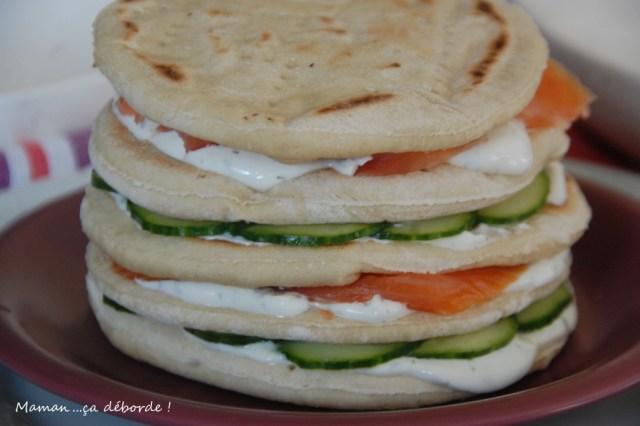 Montage du gâteau sandwich3