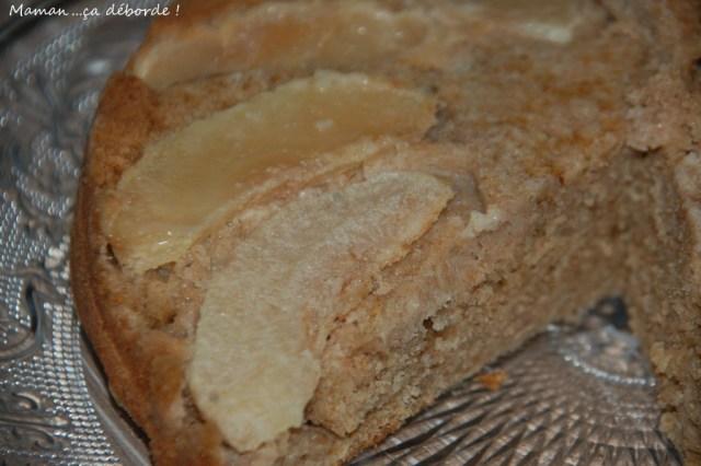Gâteau à la farine d'épeautre et lait d'amande