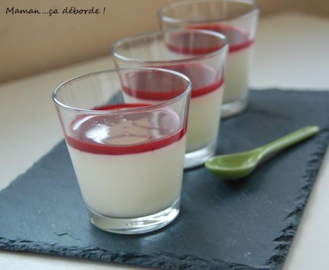 Panna cotta au lait ribot