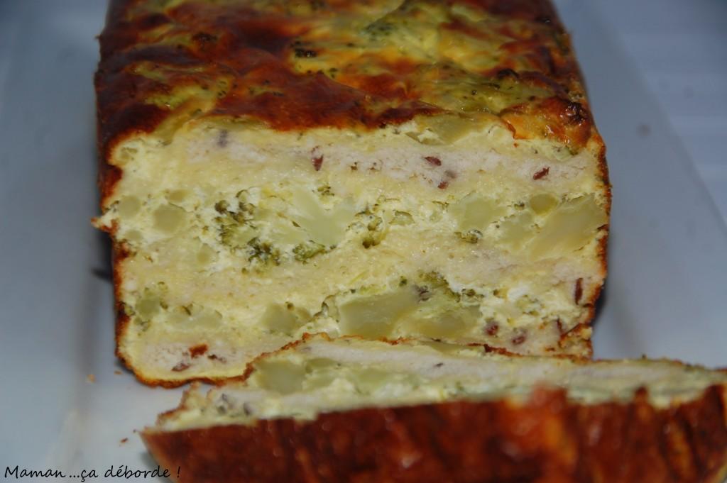Gateau de fromage frais aux herbes