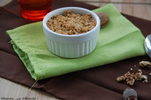 Crumble patate douce, noisette et cannelle1