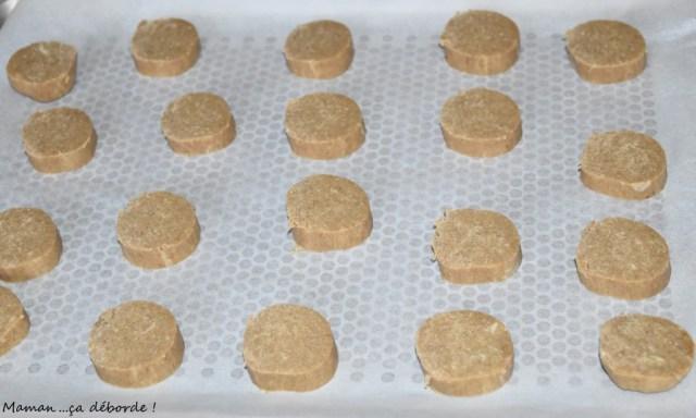 Biscuits farine de châtaigne et parmesan