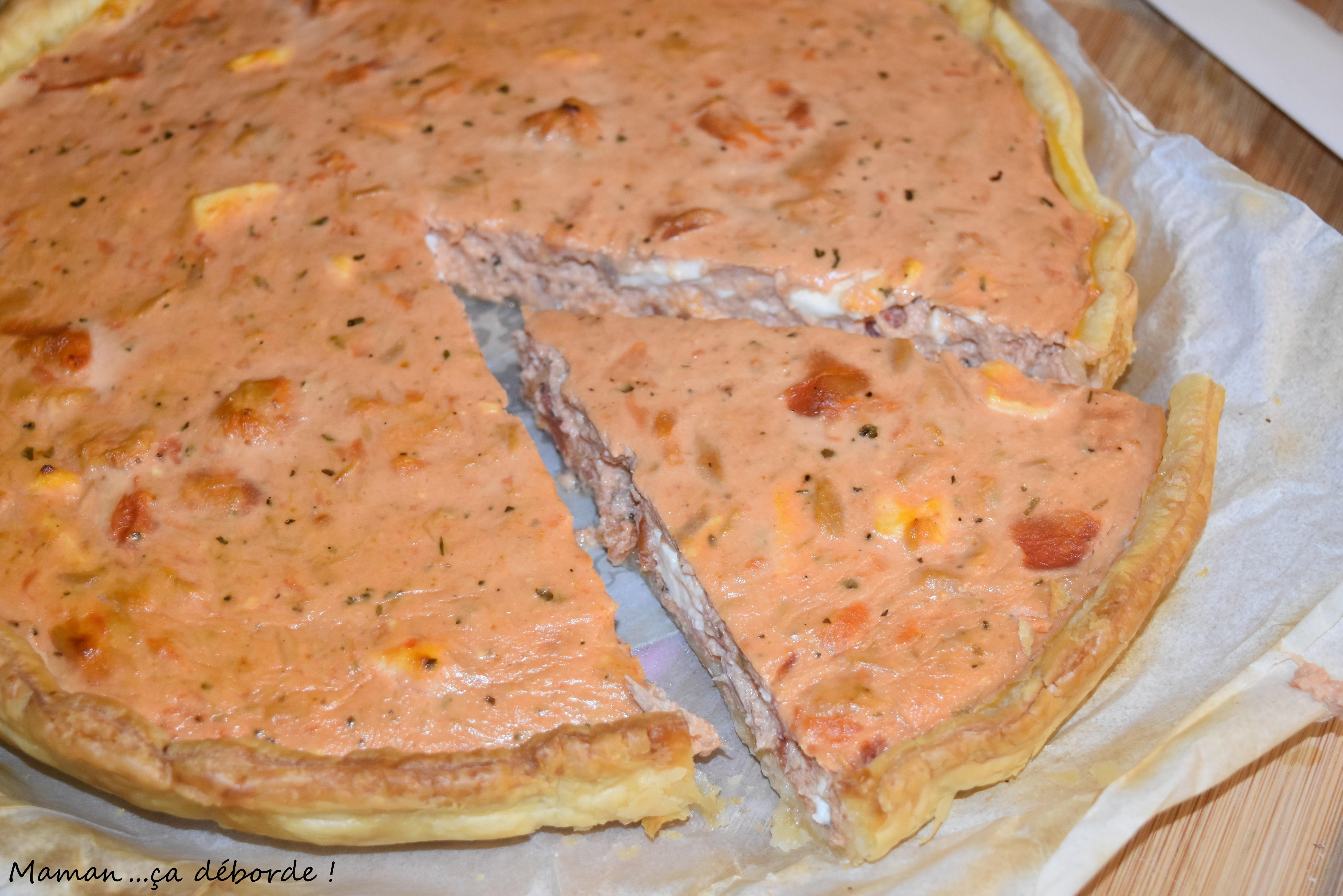 Cake Feta Tomate Thon