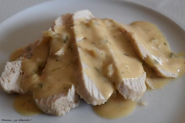 Poulet sauce estragon