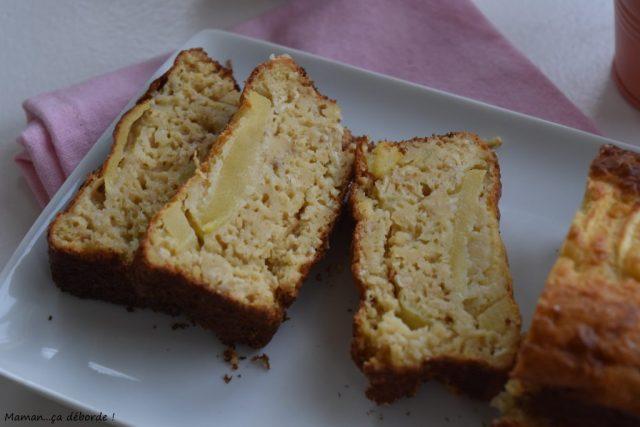 Cakes aux pommes et flocons d'avoine