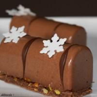 Mini buches au chocolat