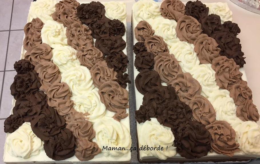 Entremet 3 chocolats