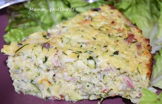 Gâteau de courgettes au fromage blanc