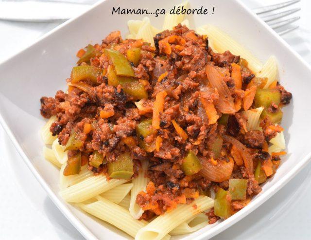 Sauce merguez poivron (restes de barbecue)
