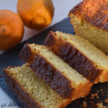 Cake au citron bergamote