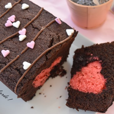 Cake surprise de la St Valentin