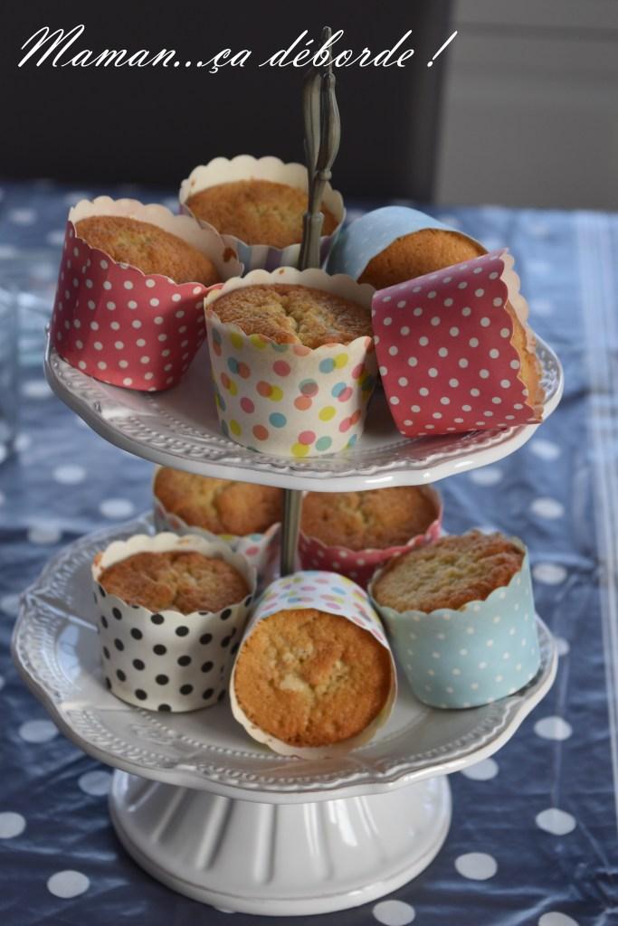 Muffins à la vanille de Christophe Michalak