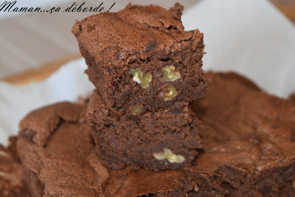 Brownie allégé (sans beurre)