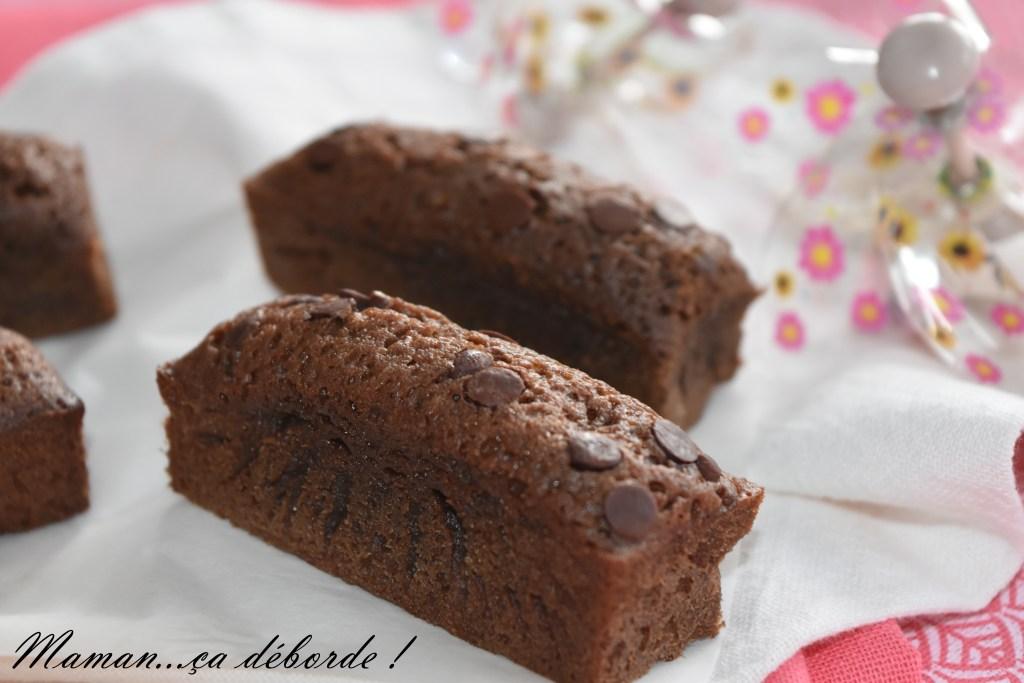 Mini cakes tout chocolat