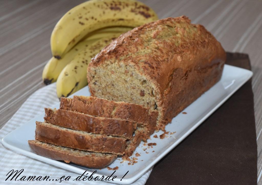 Banana bread au beurre de cacahuète