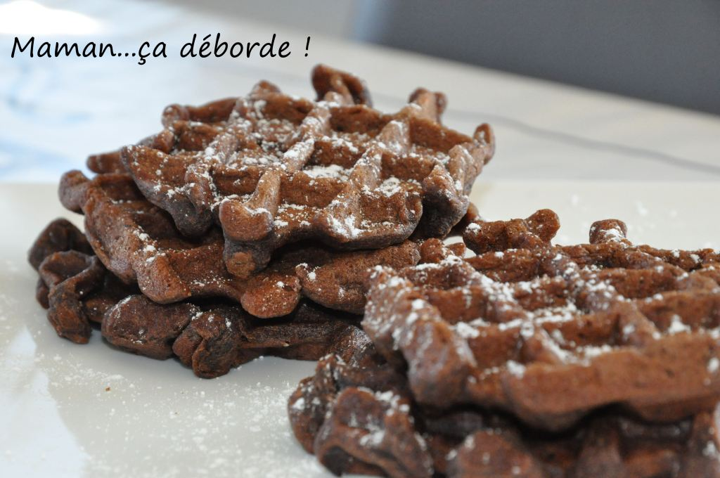 Gaufre brownie