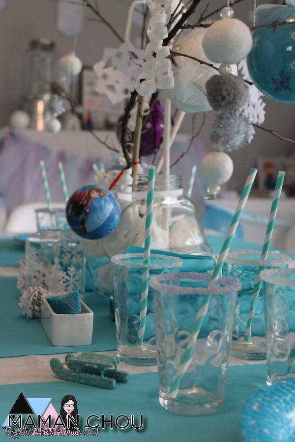 sweet table anniversaire reine des