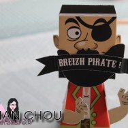 Paper Toy Léo le Pirate