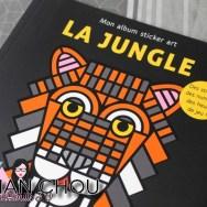 Mon album sticker art la jungle
