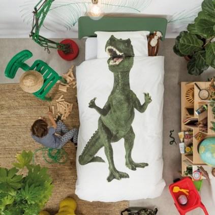 Parure de lit Dinosaure T-Rex