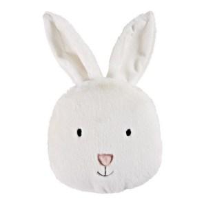 Coussin lapin blanc