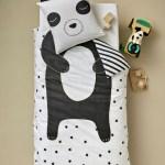 Parure Housse de couette Panda mon ami