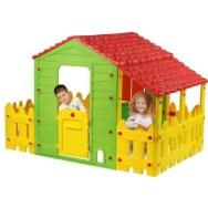 Cabane enfant ferme