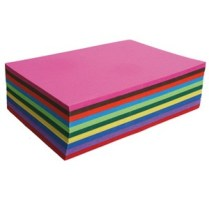 Papier de couleurs