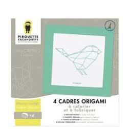 Cadres origami - Pirouette Cacahouète