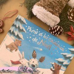 Plume et les cadeaux de Noël