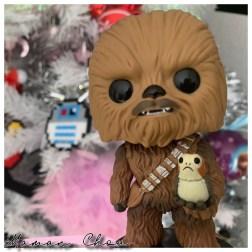 Funko Pop Disney Star Wars Chewbacca Porg