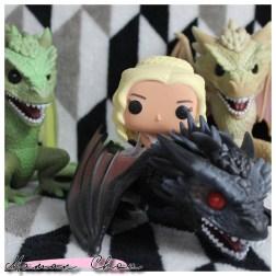 Funko Pop Game of thrones daenerys Drogon
