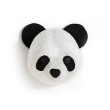 Tête de panda murale Lapilli