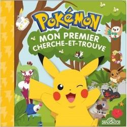 Pokémon mon premier cherche et trouve Pikachu